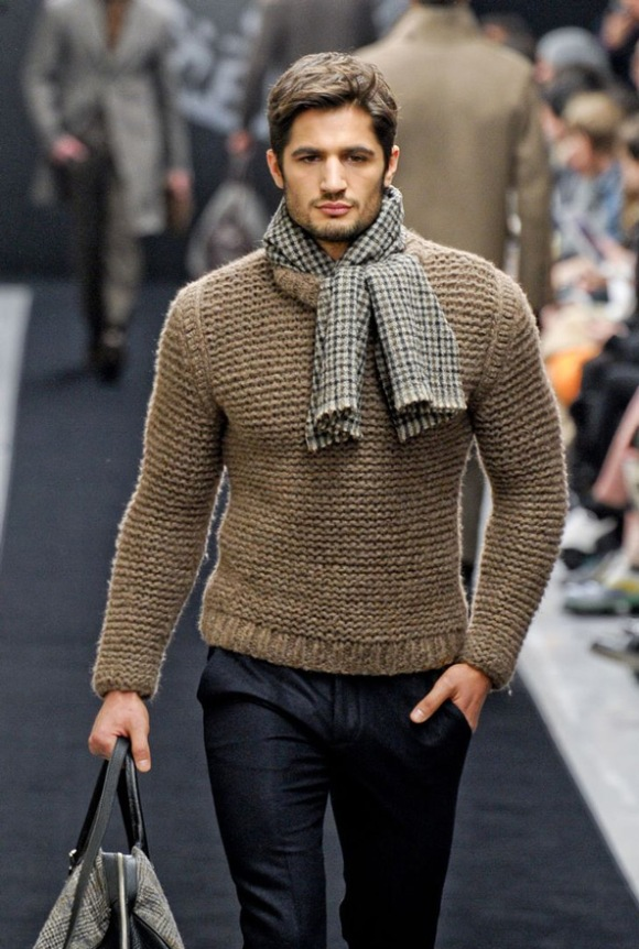 Amazing knitwear is a nice way to show off your style this winter, keep warm while looking stylish - Daniel Riding for Mens Fashion Magazine